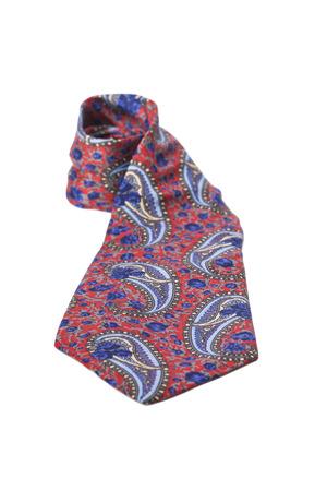 Luxury tie on white background