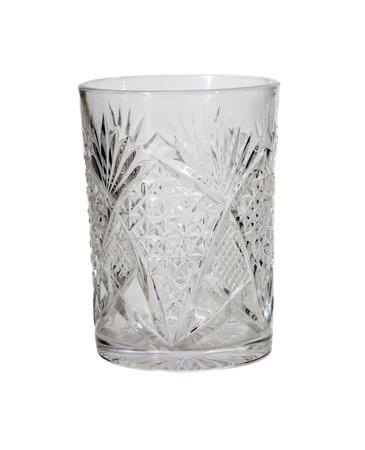 Water glass, isolated on white  Reklamní fotografie