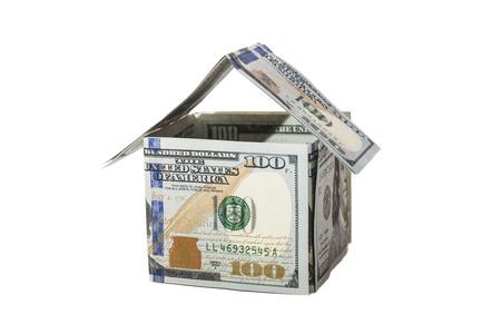 House of one hundred dollar bills  photo