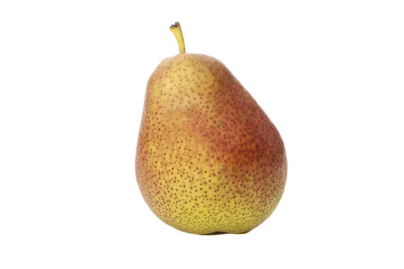 pears one on white background  Reklamní fotografie