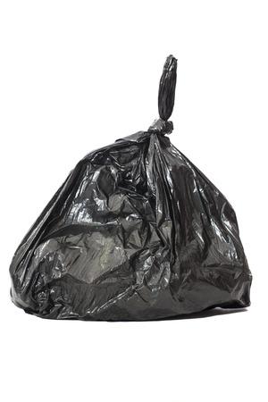 Garbage bags on white  Reklamní fotografie