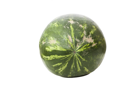watermelon isolated on white background  Stock Photo