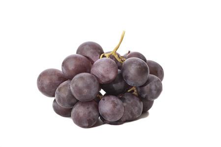 red grape isolated on white  Reklamní fotografie