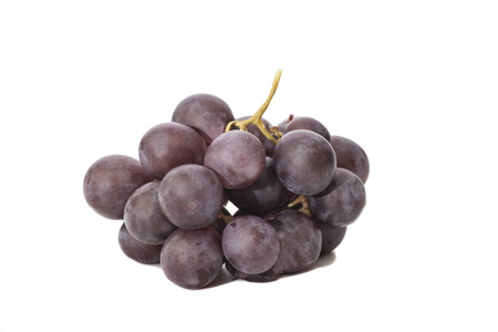 red grape isolated on white  Stock Photo