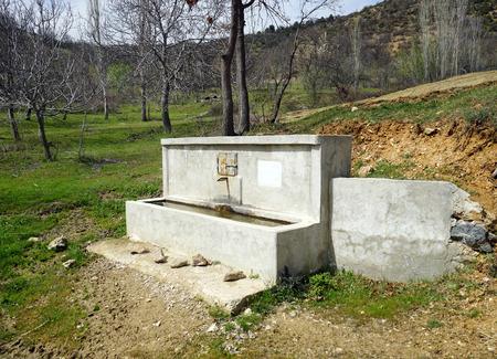 drinking source: drinking source in Turkey