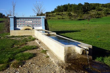 source: drinking source in Turkey