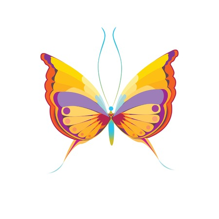 overhand: butterfly vi overhand Illustration