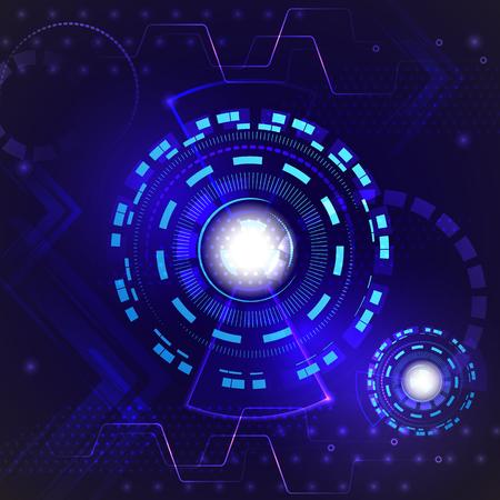 hi speed: Abstract hi speed internet technology background. Digital technology innovation concept. Vector illustration.