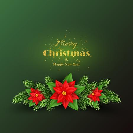 Christmas holiday background. Illustration