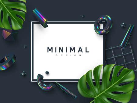 Minimal abstract summer design.