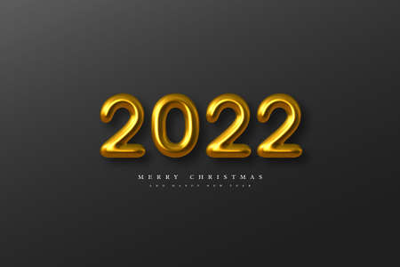 2022 New Year sign. Stock fotó