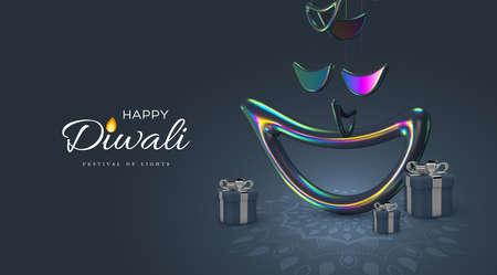 Diwali holiday design.