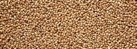 Uncooked Dry Roasted Buckwheat texture Zdjęcie Seryjne
