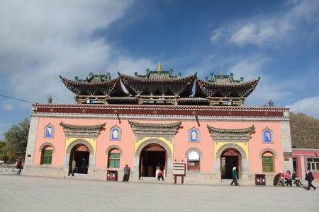 monastery: Qinghai Xining Kumbum Monastery