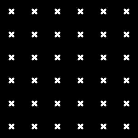 rood: Cross pattern background.