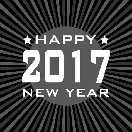 happy newyear: HAPPY NEW YEAR 2017 background.