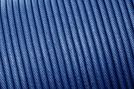 closeup of pictures, heavy duty steel wire cable or rope for heavy industrial use