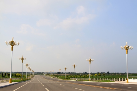 Expedite road in broad field of vision, north china