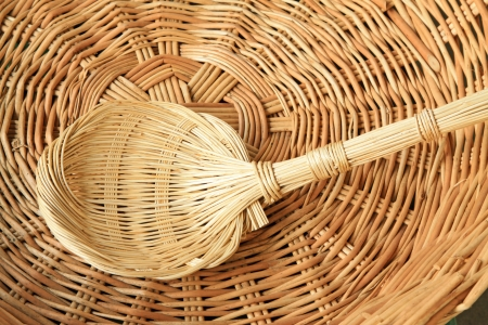 farm implements: wicker manual techniques of objects in rural china