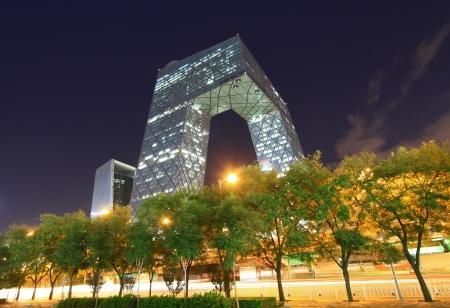 Pékin Septembre 13: Chine immeuble de bureaux de CCTV à Pékin le 13 Septembre 2012 Banque d'images - 19009957