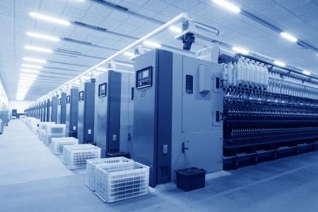ペンチョン、2012 年 11 月 20 日、Zeao の回転の生産ラインにおける機械・装置紡績会社、2012 年 11 月 20 日、ラン南県、中国これは河北省の近代的な紡