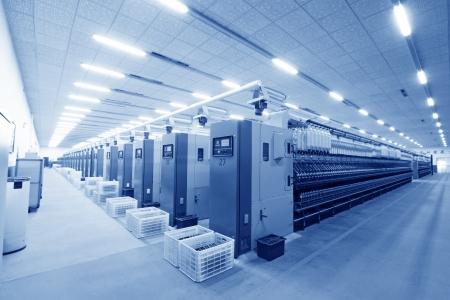 ペンチョン、2012 年 11 月 20 日: 機械・紡績会社、2012 年 11 月 20 日、ラン南県、中国 Zeao の回転の生産ラインの設備。これは河北省の近代的な紡績会 報道画像