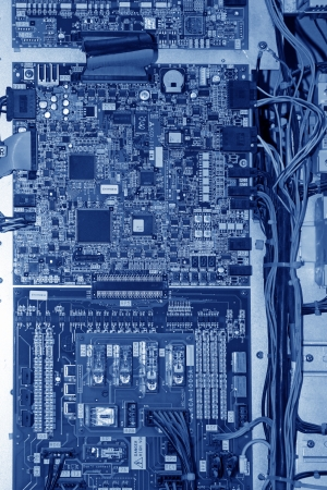 closeup of circuit boards, Universal application of the current high-tech products, especially in the IT technology.  photo