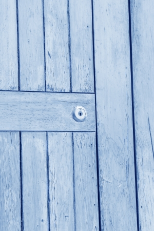 closeup of wooden door in a park on the platform