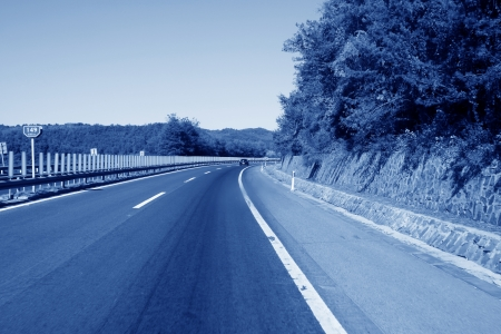 loseup of pictures, highway in north china Stock Photo