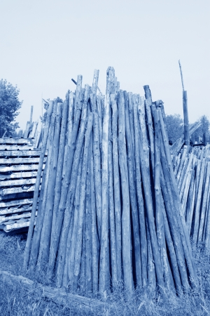 corner of the timber market, closeup of photo Stock Photo - 23523274