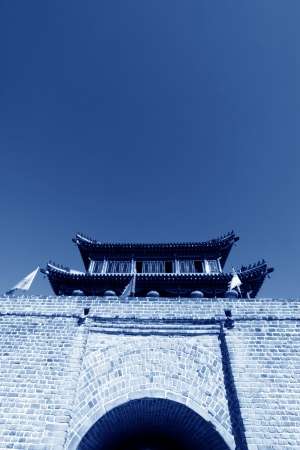 architectural style: Ancient Chinese architectural style of the drum tower