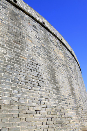 restore ancient ways: ancient walls in a scenic spot, north china