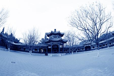 BEIJING - December 22: The Happy Garden building landscape, in the Zhongshan Park, on December 22, 2013, beijing, china. Stock Photo - 27224989