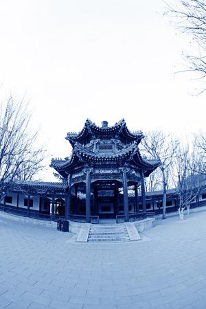 BEIJING - December 22: The Happy Garden building landscape, in the Zhongshan Park, on December 22, 2013, beijing, china. Stock Photo - 27224995