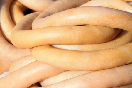 einlauf: Merkmale Essen - Einlauf, Nahaufnahme Delikatesse