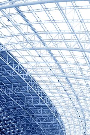 charpente m�tallique: Grande structure en acier de charpente
