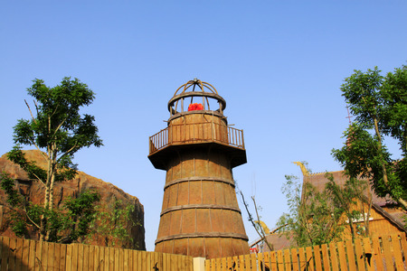 TIANJIN - MAY 17: tower building landscape, Happy Valley, on May 17, 2014, Tianjin, China.   Editorial