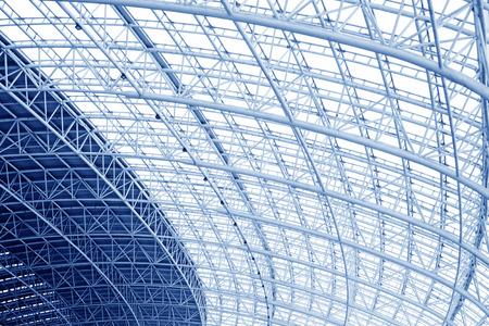 Grande structure en treillis métallique, gros plan de la photo Banque d'images - 29863649