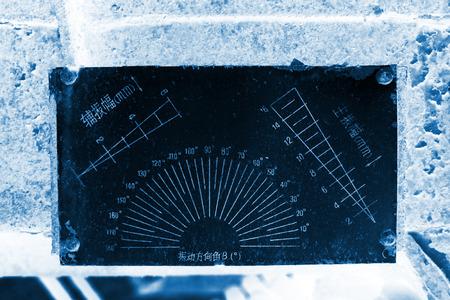 amplitude: abandoned amplitude directional signs, closeup photo