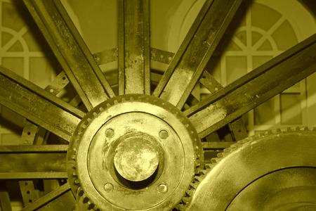mining machinery: Mining machinery equipment in a factory, closeup of photo