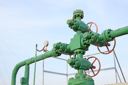 componentes: Componentes de tuber�as de aceite, primer plano de la foto Foto de archivo