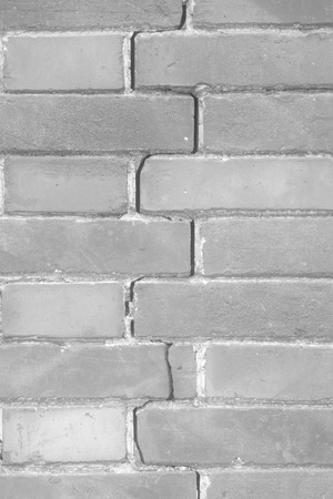 earthquakes: closeup picture, crack of brick wall, north china