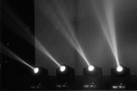 lighting effect: stage lighting effect in the dark