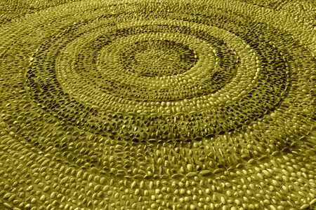 circulos concentricos: c�rculos conc�ntricos paisaje en un parque al norte de China