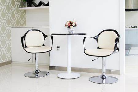 tea table: seat and tea table Editorial