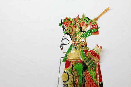 shadow play: Chinese shadow play figures