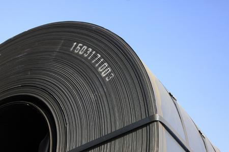 elasticity: fleje de acero, de cerca de foto