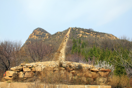 the great wall:  Great Wall  scenery, China