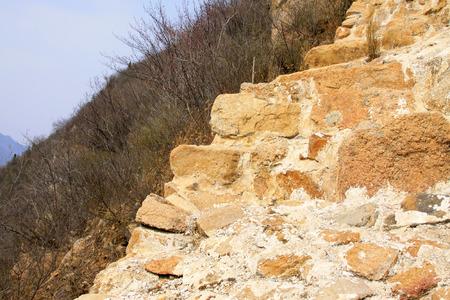 Ming Great Wall broken landscape, China