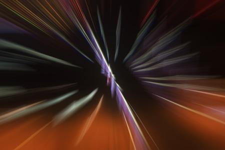 fuzzy: Fuzzy image, light spot stretching effect, closeup of photo